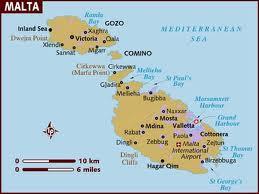 Cartina Di Malta Dettagliata.Malta